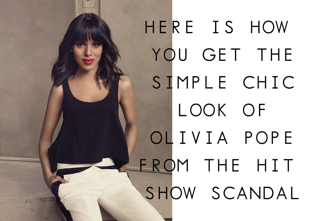 Olivia Pope - Scandal Show - Fashion Outfit