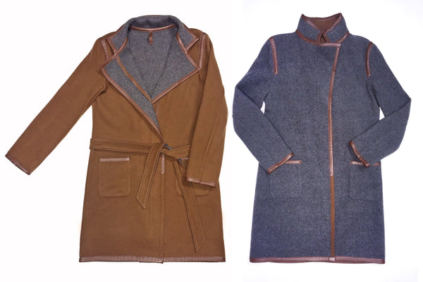 Margaret reversible coat for twice the amount of looks!