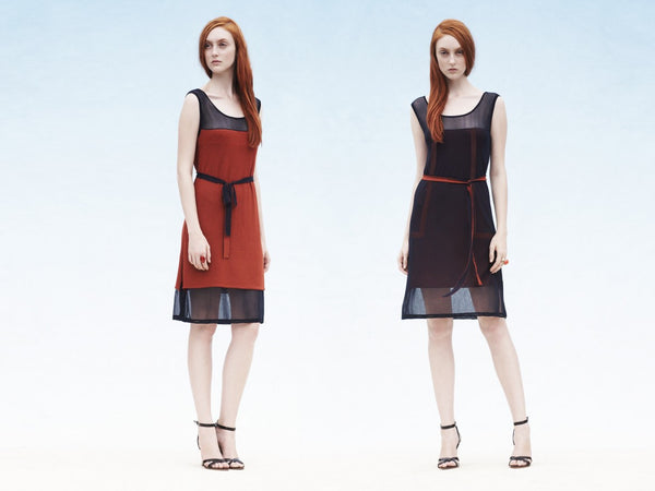 LUCIANA reversible dress (available by special order only)