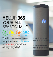 Yecup 365 - Travel Mug, Travel Essentials, Travel Products