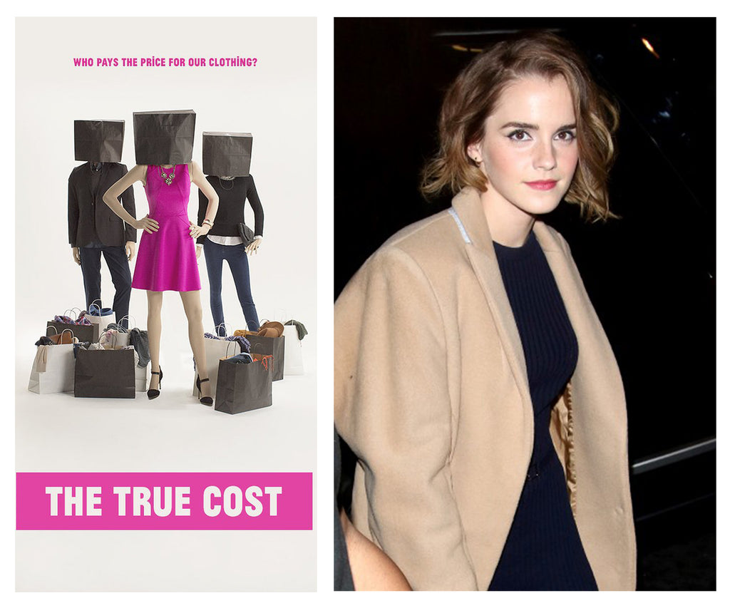 Watson at the London screening of The True Cost