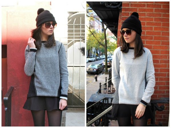 How They Wear It: Winter Sweater 1