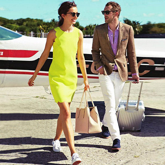 jetset couple airport