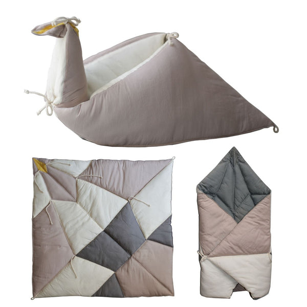 Play Fold Bird Blanket