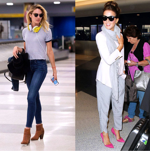 fly in style and comfort _ Kate Beckinsale_Candice Swanepoel