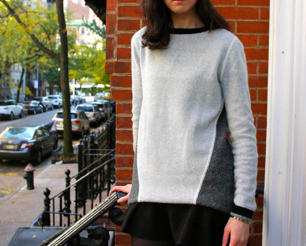 How The Wear It: Winter Sweater 5