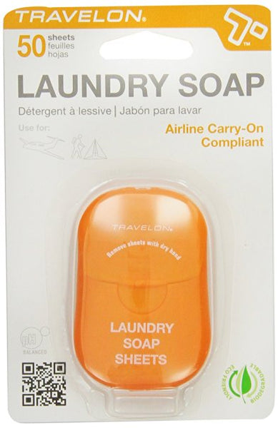 Travelon Laundry Soap - Best Travel Essentials, Best Travel Products, Frequent Travelers Products
