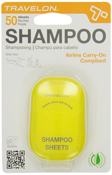 Travelon Shampoo Sheets - Best Travel Produts, Best Travel Essentials, Frequent Travelers Products