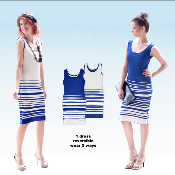 Abbee reversible dress - great for traveling cocktail and business