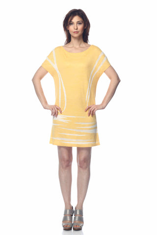 Katerina Long Sleeve Reversible Knit-Dress