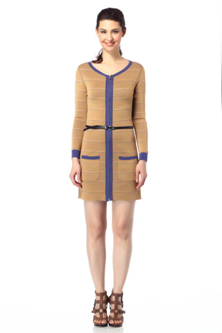 Perla Reversible Draped Jacket/Coat with Matching Sash