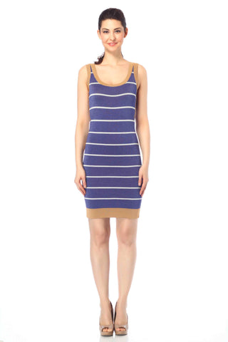 Alessandra Reversible Summery Knit-Dress