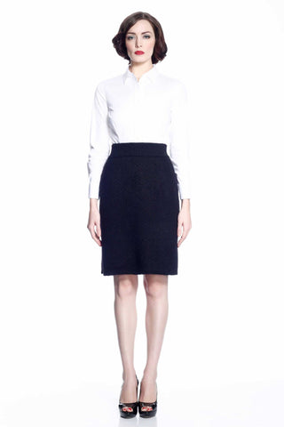 Glenda Reversible Pencil Skirt