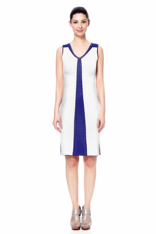 Andela V-Neck Reversible Dress