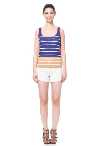 Amandine Reversible 2-Colorway Stripe Dress