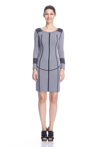 Greta Elegant Reversible Knit-Dress