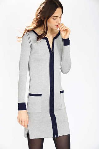 Oksana Scoop Neck Convertible Dress/Cardigan