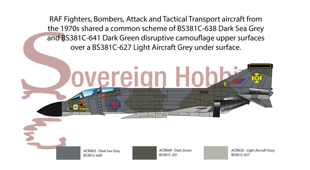 RAF Fighters Bombers Tactical Transports 1970s