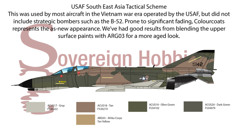 USAF South East Asia Tactical Scheme