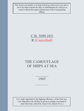 Load image into Gallery viewer, Royal Navy Camouflage - C.B.3098(R) 1945 Edition - THE CAMOUFLAGE OF SHIPS AT SEA - Ship painting guide extract - Sovereign Hobbies