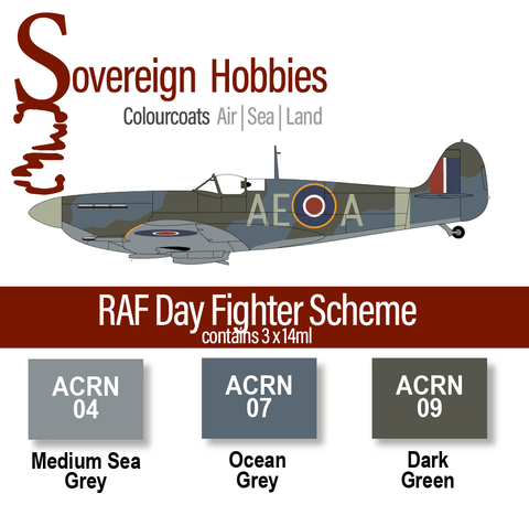 Colourcoats Set RAF Day Fighter Scheme