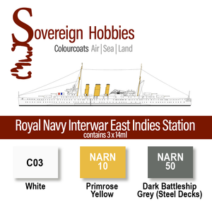 Colourcoats Set Royal Navy Interwar East Indies Station