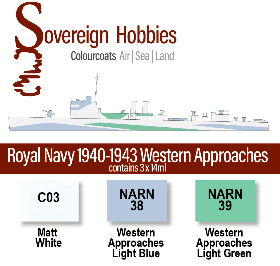 Colourcoats Set Royal Navy 1940-1942 Western Approaches
