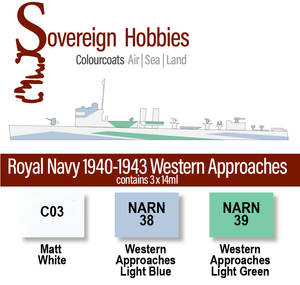 Colourcoats Set Royal Navy 1940-1942 Western Approaches - Sovereign Hobbies