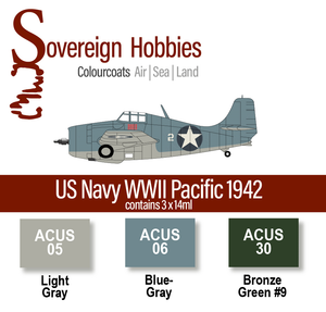 Colourcoats Set US Navy WWII Pacific 1942 - Sovereign Hobbies
