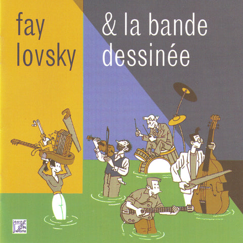 Fay Lovsky - La Bande Dessinée - Digital Download