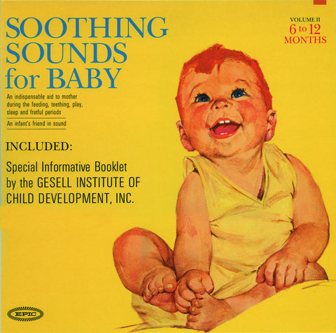 Raymond Scott - Soothing Sounds for Baby - 3-Vinyl set