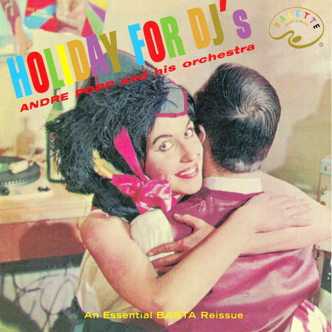 André Popp - Holiday for DJ's - Compact Disc