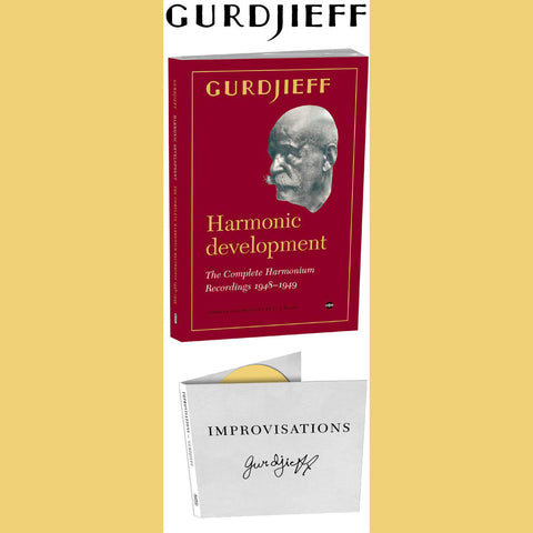 Gurdjieff - Harmonic Development - Book /w music.