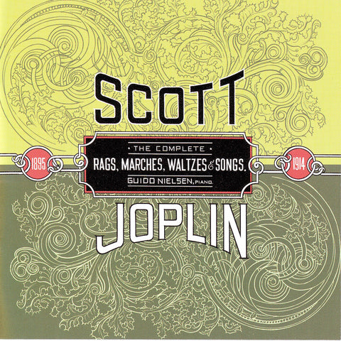Guido Nielsen - Complete Scott Joplin 4 albums - Digital Download