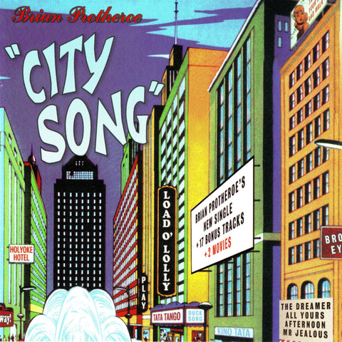 Citysong - Brian Protheroe - Compact Disc
