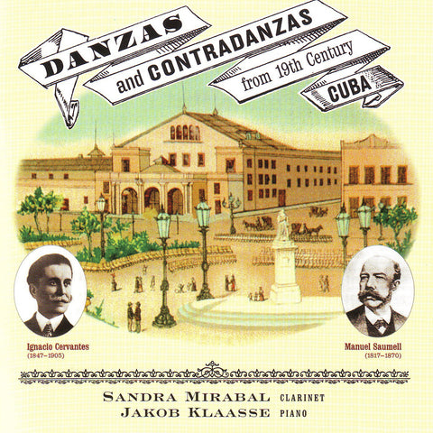 Mirabal and Klaasse - Danzas and Contradanzas - Digital Download