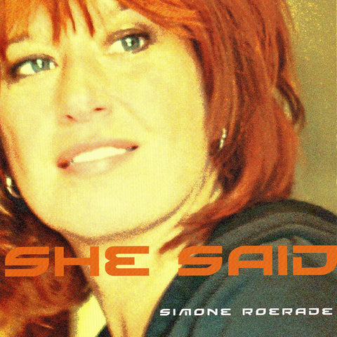 Simone Roerade - She Said - Digital Download