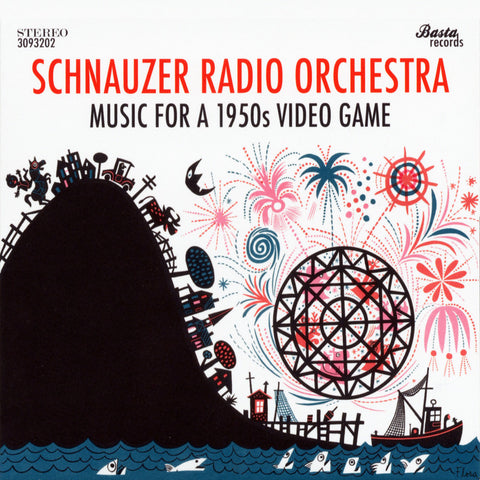 Schnauzer Radio Orchestra - Music for a 1950s Video Game - Digital Download