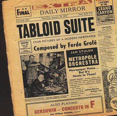 Metropole Orchestra - Tabloid Suite - Digital Download
