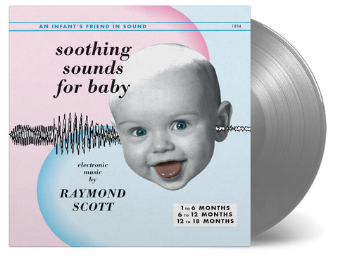 Raymond Scott - Soothing Sounds for Baby - 3-Vinyl set - 2017