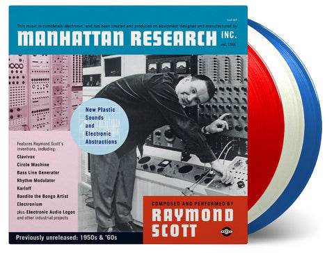 Raymond Scott - Manhattan Research, Inc. - 3x Vinyl Set - 2017