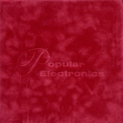 "Popular Electronics - Limited Edition 4x 7"" vinyl set"