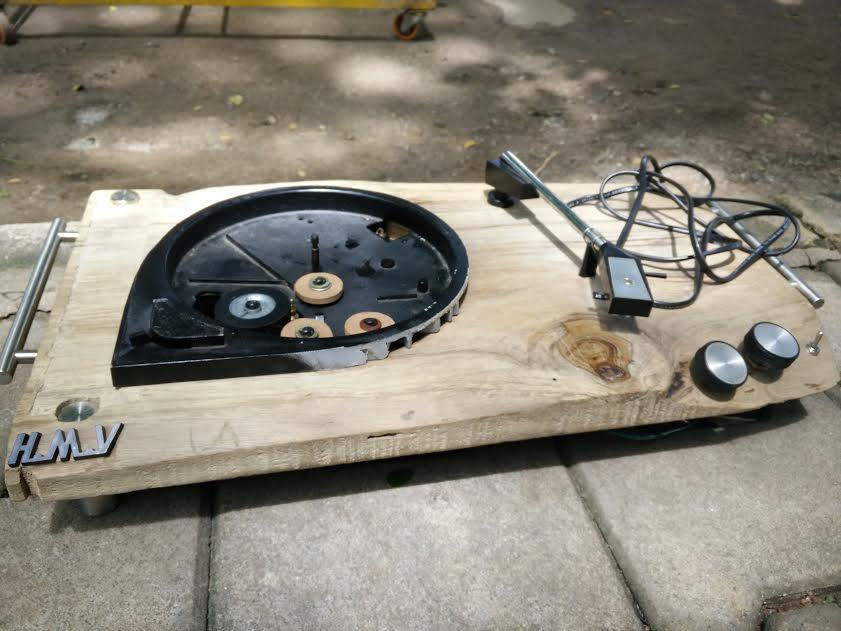 Indian Designer Transforms Vintage HMV Fiesta Turntable