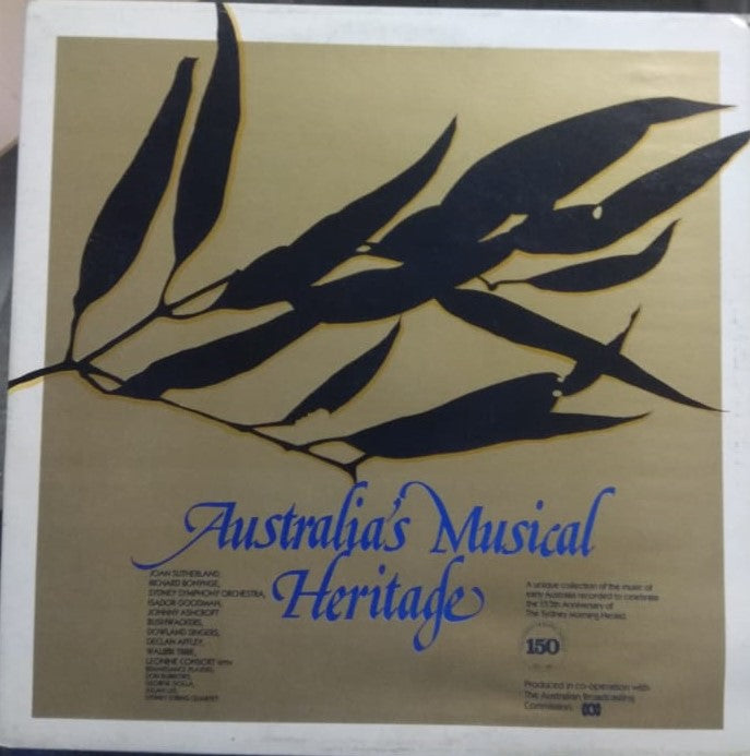Australia's Musical Heritage By Various  (Used Vinyl)  NM