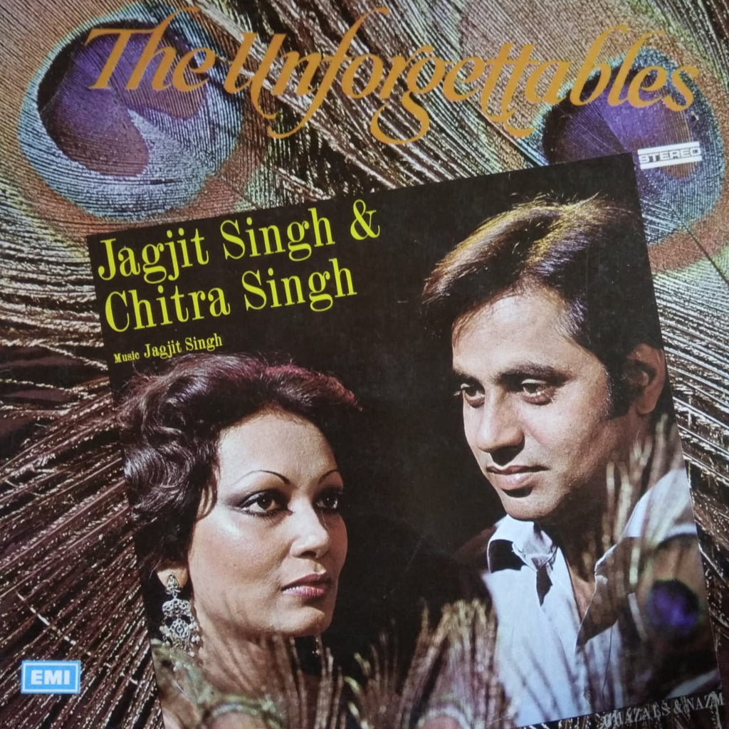 The Unforgettables By Jagjit Singh & Chitra Singh (Used Vinyl)  VG
