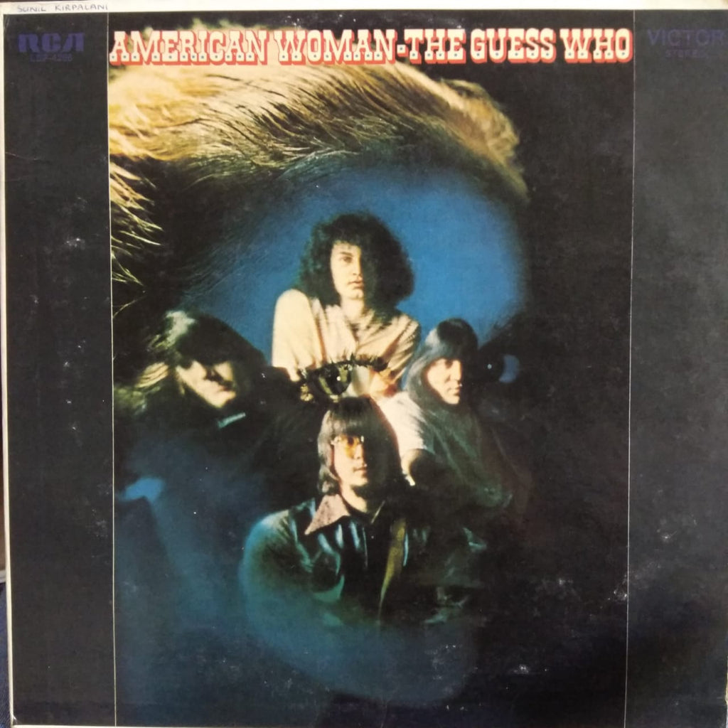 American Woman By The Guess Who (Used Vinyl )  VG