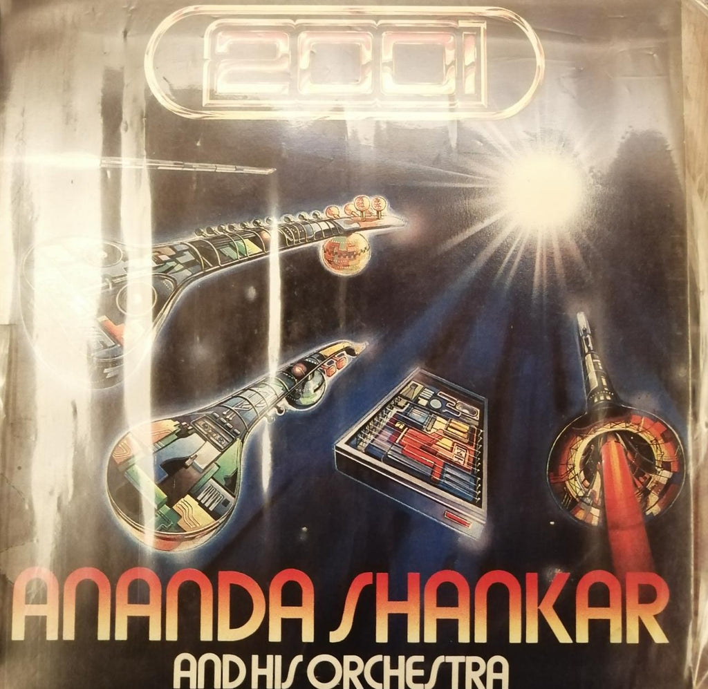 2001 By Ananda Shankar And His Orchestra  (Used Vinyl) VG