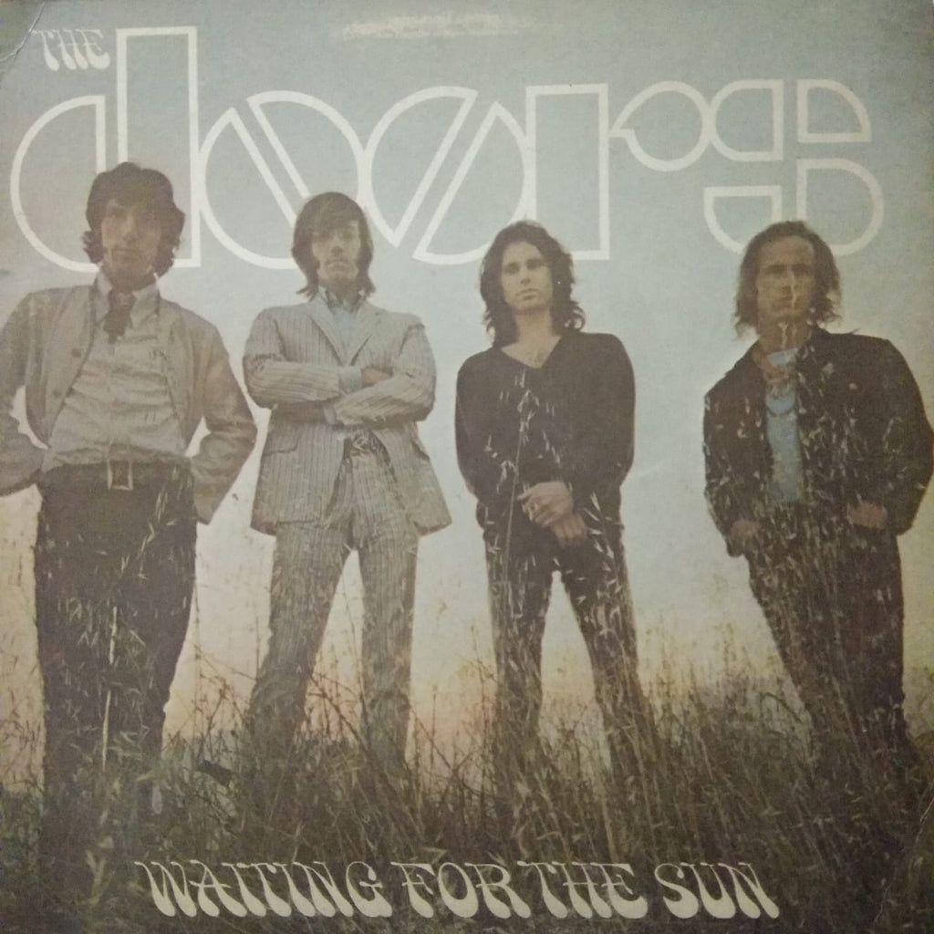 Waiting For The Sun By The Doors  (Used Vinyl )  VG