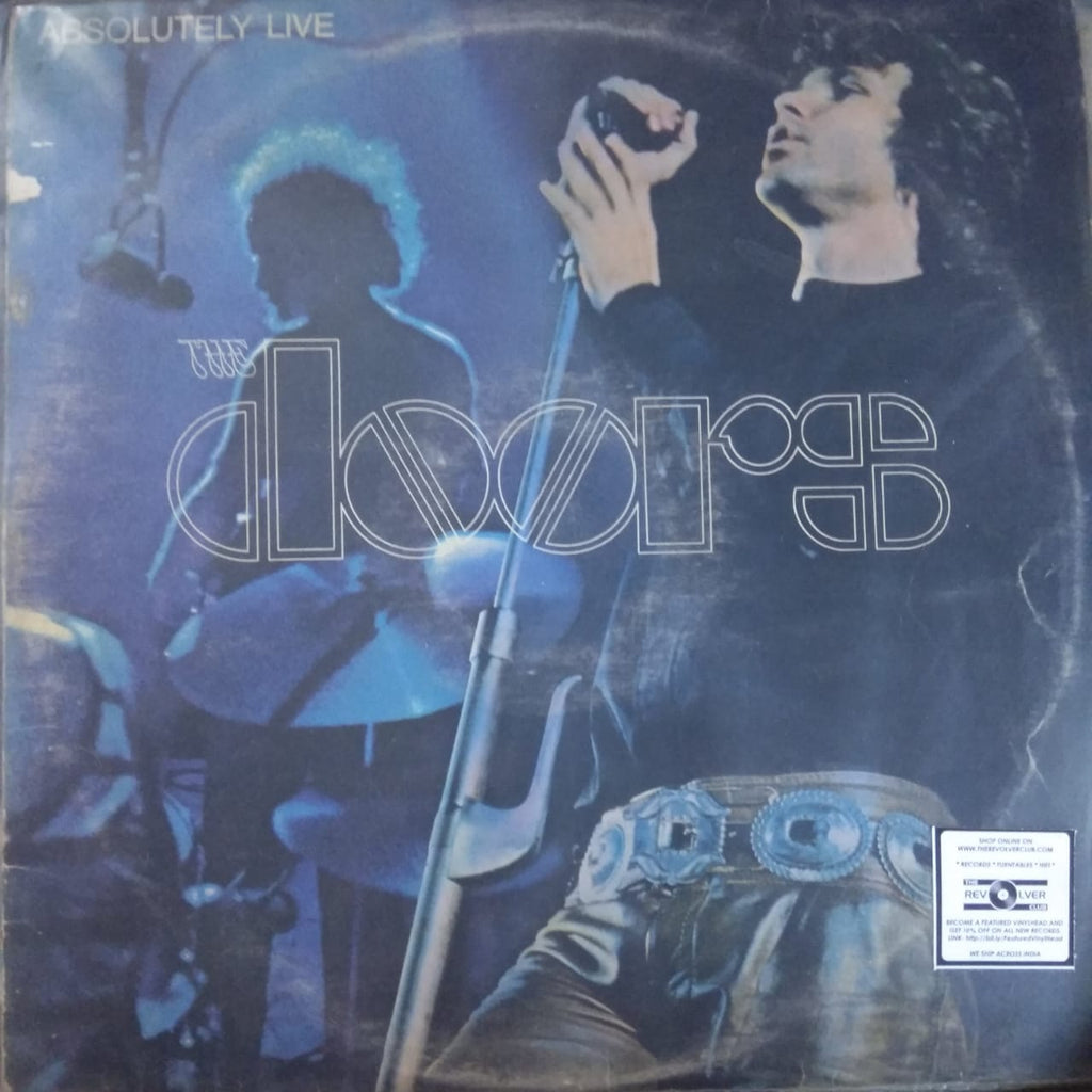 Absolutely Live By The Doors ‎  (Used Vinyl) VG