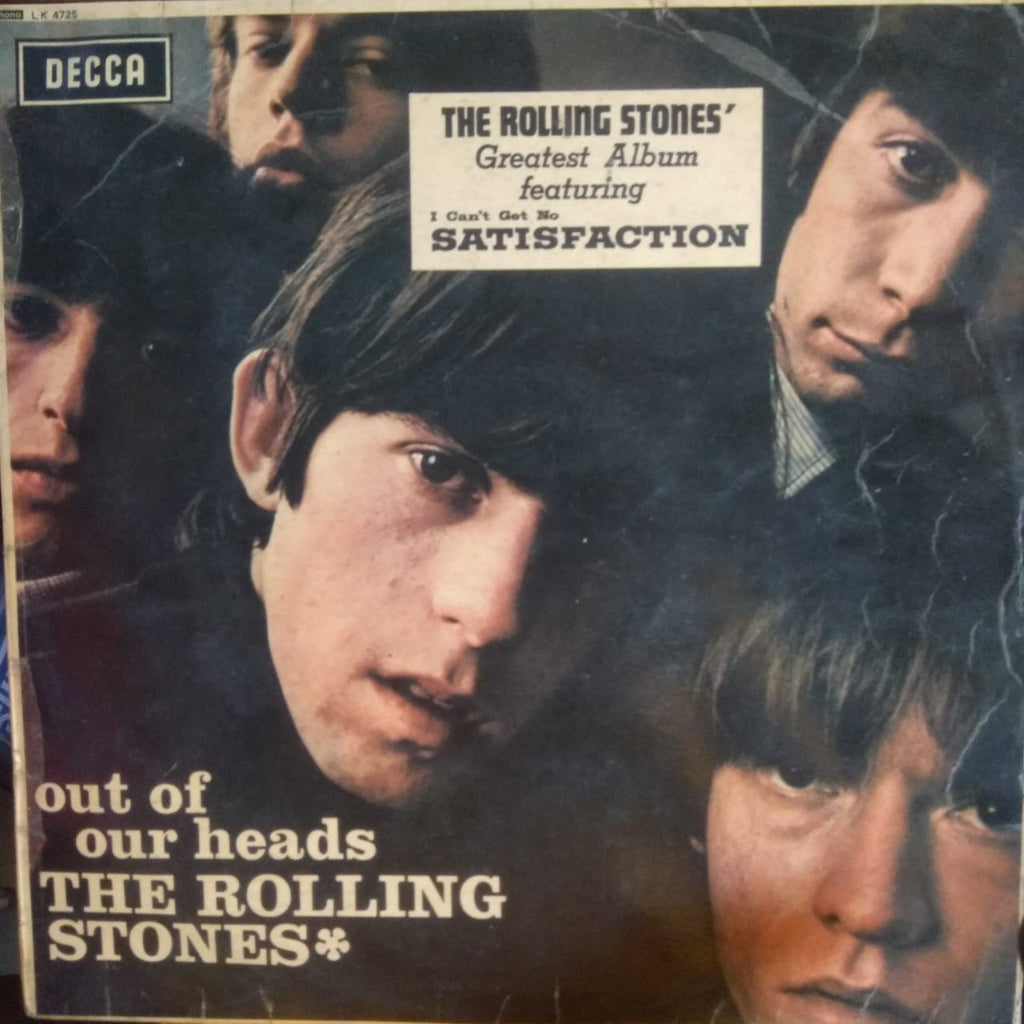 Out Of Our Heads By The Rolling Stones (Used Vinyl ) G